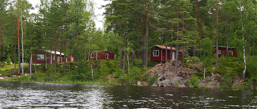 Mogrensvik T&F - View from the lake Järnsjön